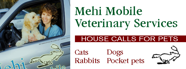 Dr. Nancy Mehi, of Mehi Mobile Veterinary Services